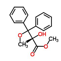 (S)-2-hydroxy methyl 3-methoxy-3,3-diphenylpropionate