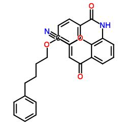 N-(2-cyano-4-oxochromen-8-yl)-4-(4-phenylbutoxy)benzamide