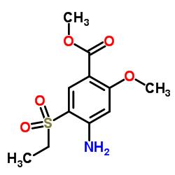 Methyl 4-amino-5-(ethylsulfonyl)-2-methoxybenzoate