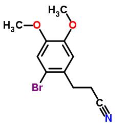 3-(2-BROMO-4,5-DIMETHOXYPHENYL)PROPANENITRILE