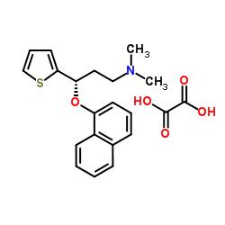 S-(+)-N、N-ジメチル-3-(1-ナフトキシ)-3-(2-チエニル)-1-プロピルアミンシュウ酸塩
