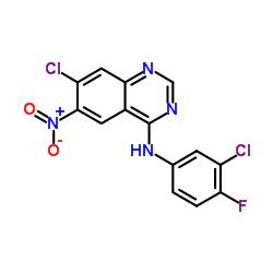 7-chloro-N-(3-chloro-4-fluorophenyl)-6-nitroquinazolin-4-amine