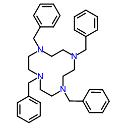 1,4,7,10-tetrabenzyl-1,4,7,10-tetrazacyclododecane