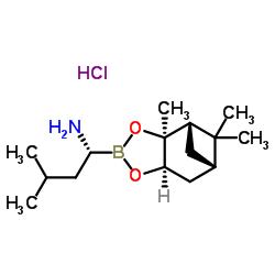(R)-BoroLeu-(+)-Pinanediol-HCl