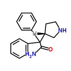 (S)-α,α-Diphenyl-3-pyrrolidineacetamide