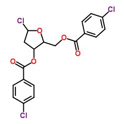 [(2S,3R,5R)-5-chloro-3-(4-chlorobenzoyl)oxyoxolan-2-yl]methyl 4-chlorobenzoate