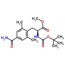 4'-carbamoyl N-Boc-2',6'-dimethyl-L-phenylalanine methyl ester