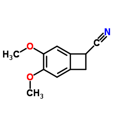 4,5-Dimethoxy-1-benzocyclobutenecarbonitrile