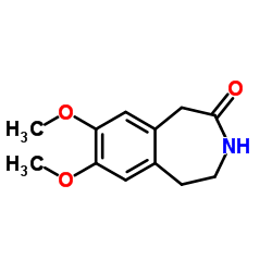 7,8-dimethoxy-1,2,3,5-tetrahydro-3-benzazepin-4-one