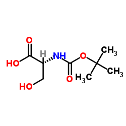 (2R)-3-hydroxy-2-[(2-methylpropan-2-yl)oxycarbonylamino]propanoic acid