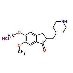 5,6-Dimethoxy-2-(4-Piperidinylmethyl)-1-Indanone Hydrochloride
