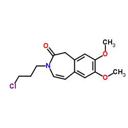 3-(3-chloropropyl)-7,8-dimethoxy-1H-3-benzazepin-2-one