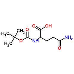 N-(tert-Butoxycarbonyl)-L-glutamine
