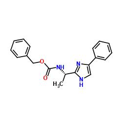 [1-(4-phenyl-1H-imidazol-2-yl)-ethyl]-carbamic acid benzyl ester