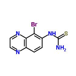 5-Bromoquinazolin-6-ylthiourea