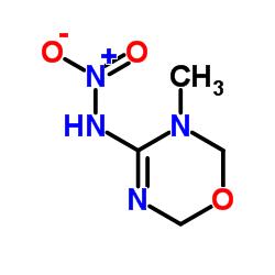 N-(3-methyl-2,6-dihydro-1,3,5-oxadiazin-4-yl)nitramide