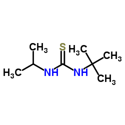1-tert-ブチル-3-プロパン-2-イルチオ尿素