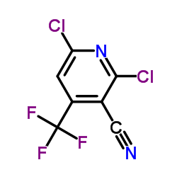 2,6-Dichloro-4-(trifluoromethyl)nicotinonitrile