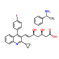 (3R、5S)-7- [2-シクロプロピル-4-(4-フルオロフェニル)-3-キノリル]-3,5-ジヒドロシル-6-ヘプタン酸