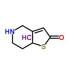 2H,4H,5H,6H,7H,7AH-Thieno[3,2-c]pyridin-2-one hydrochloride