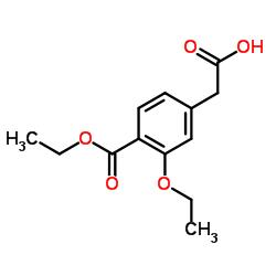 3-Ethoxy-4-(ethoxycarbonyl)phenylacetic Acid