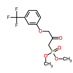 [2-Oxo-3-[3-(trifluoromethyl)phenoxy]propyl]phosphonic Acid Dimethyl Ester