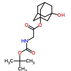 (2S)-2-((tert-Butoxycarbonyl)amino)-2-(3-hydroxyadamantan-1-yl)acetic acid