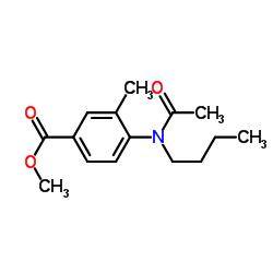 4-(ブタノイルアミノ)-3-メチル安息香酸メチル