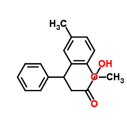 3-(2-Methoxy-5-methylphenyl)-3-phenyl-propanoic Acid