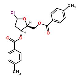(2S,3R,5R)-5-Chloro-2-(((4-methylbenzoyl)oxy)-methyl)tetrahydrofuran-3-yl 4-methylbenzoate
