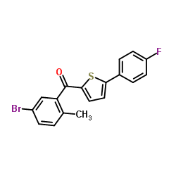 (5-Bromo-2-methylphenyl)[5-(4-fluorophenyl)-2-thienyl]methanone