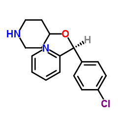2-[(S)-(4-chlorophenyl)-piperidin-4-yloxymethyl]pyridine