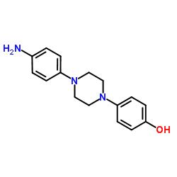1-(4-アミノフェニル)-4-(4-ヒドロキシフェニル)ピペラジン