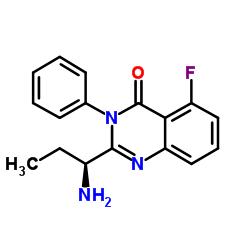 2-[(1S)-1-Aminopropyl]-5-fluoro-3-phenyl-4(3H)-quinazolinone