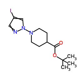 1-Boc-4-(4-ヨード-1H-ピラゾール-1-イル)ピペリジン