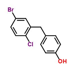 4-[(5-ブロモ-2-クロロフェニル)メチル]フェノール