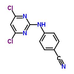 4-[(4,6-dichloropyrimidin-2-yl)amino]benzonitrile
