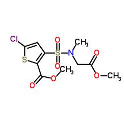 5-クロロ-3- [N-(メトキシ-カルボニル-メチル)スルファモイル] -2-チオフェンカルボン酸メチルエステル