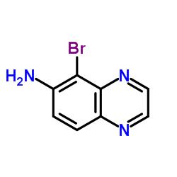 6-Amino-5-bromoquinoxaline