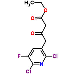 エチル2,6-ジクロロ-5-フルオロ-ピリジン-3-アセトアセテート