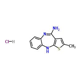4-アミノ-2-メチル-10H-チエノ[2,3-b] [1,5]-ベンゾジアザピン、塩酸塩