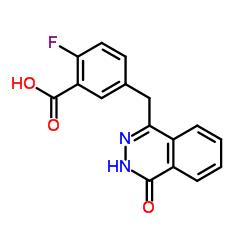 2-フルオロ-5-((4-オキソ-3,4-ジヒドロフタラジン-1-イル)メチル)安息香酸