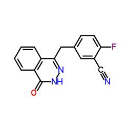 2-フルオロ-5-[(4-オキソ-3,4-ジヒドロフタラジン-1-イル)メチル]ベンゾニトリル