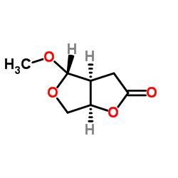 (3aS,4S,6aR)-4-methoxy-tetrahydro-furo[3.4-b]furan-2(3H)-one