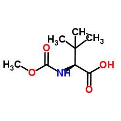 N-Methoxycarbonyl-L-tert-leucine