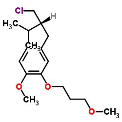 4-[(2R)-2-(Chloromethyl)-3-methylbutyl]-1-methoxy-2-(3-methoxypropoxy)benzene