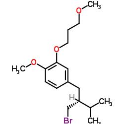 2-(3-メトキシプロポキシ)-4-((R)-2-(ブロモメチル)-3-メチルブチル)-1-メトキシベンゼン