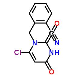 2-((6-クロロ-2,4-ジオキソ-3,4-ジヒドロピリミジン-1(2H)-イル)メチル)ベンゾニトリル