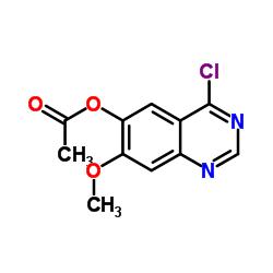 6-Acetoxy-4-chloro-7-methoxyquinazoline