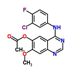 4-((3-クロロ-4-フルオロフェニル)アミノ)-7-メトキシキナゾリン-6-イルアセテート